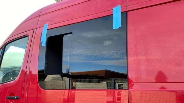 VL Seitenscheibe mit Schiebefenster getönt für Mercedes Sprinter W907, W910 L1