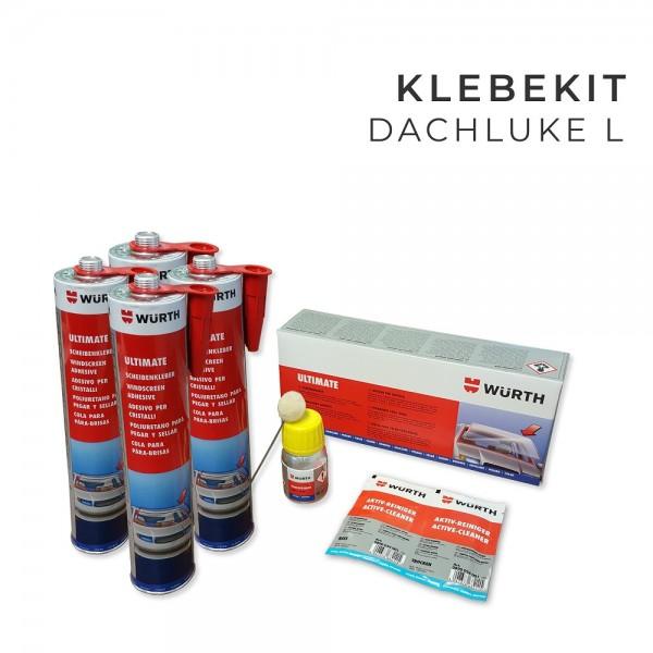 Klebekit, Scheibenkleber Set für Dachluke L
