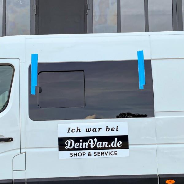 VL Seitenscheibe mit Schiebefenster getönt für Opel Movano B ab 2009