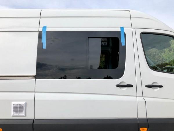 VR Seitenscheibe mit Schiebefenster getönt für Mercedes Sprinter W906 L2-L4