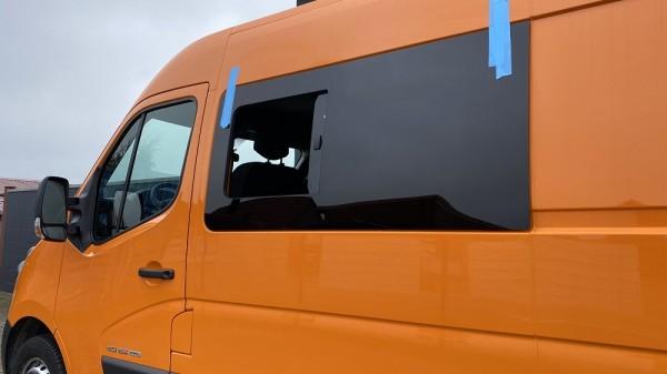 VL Seitenscheibe mit Schiebefenster getönt für Nissan NV400 ab 2009