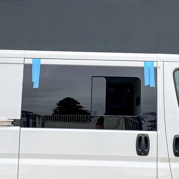 VR Seitenscheibe mit Schiebefenster getönt für Fiat Ducato L2-L5