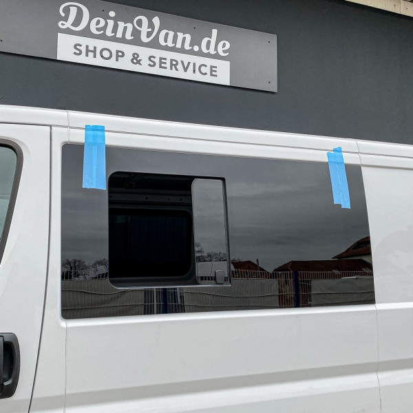 VL Seitenscheibe mit Schiebefenster getönt für Fiat Ducato L2-L5
