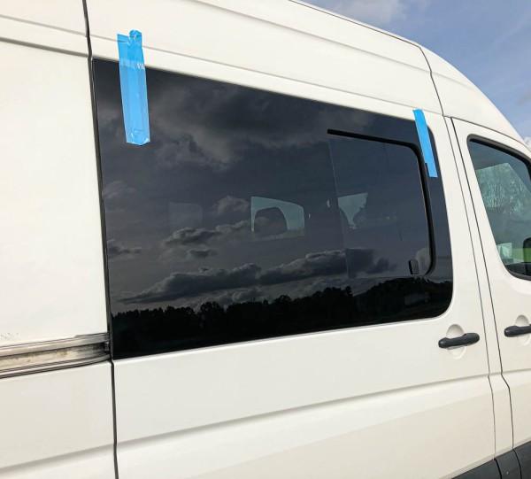 VR Seitenscheibe mit Schiebefenster getönt für Volkswagen Crafter bis 2017 L2-L4