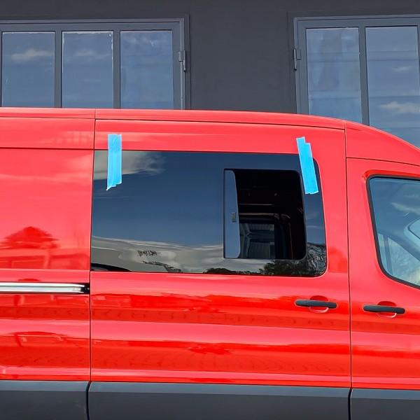 VR Seitenscheibe mit Schiebefenster getönt für Ford Transit MK8 ab 2014