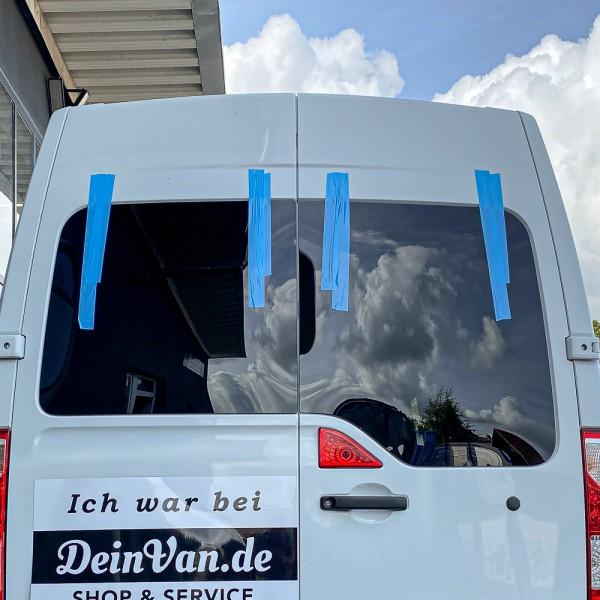 Heckscheiben Set getönt für Opel Movano B ab 2009