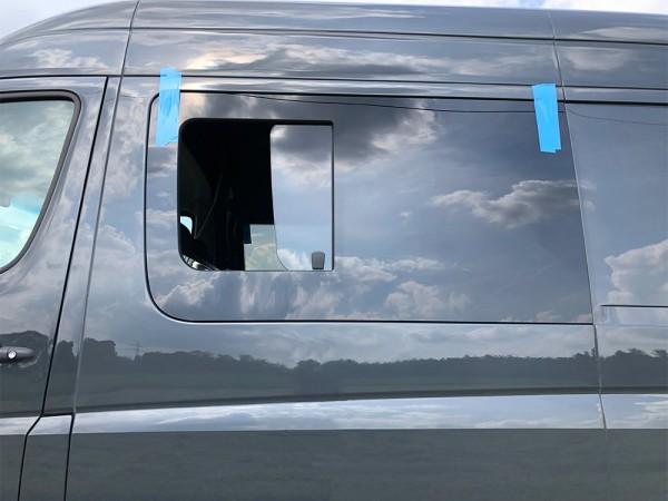 VL Seitenscheibe mit Schiebefenster getönt für Mercedes Sprinter W906 L2-L4