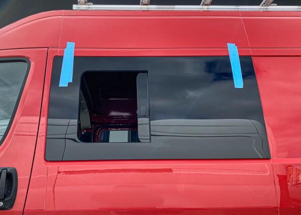 VL Seitenscheibe mit Schiebefenster getönt für Fiat Ducato L1