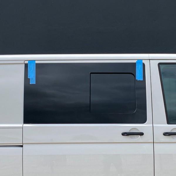 VR Seitenscheibe mit Schiebefenster getönt für Volkswagen T5, T6, T6.1