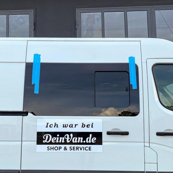 VR Seitenscheibe mit Schiebefenster getönt für Opel Movano B ab 2009
