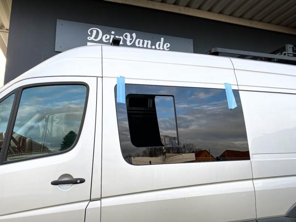 VL Seitenscheibe mit Schiebefenster getönt für Volkswagen Crafter bis 2017 L2-L4