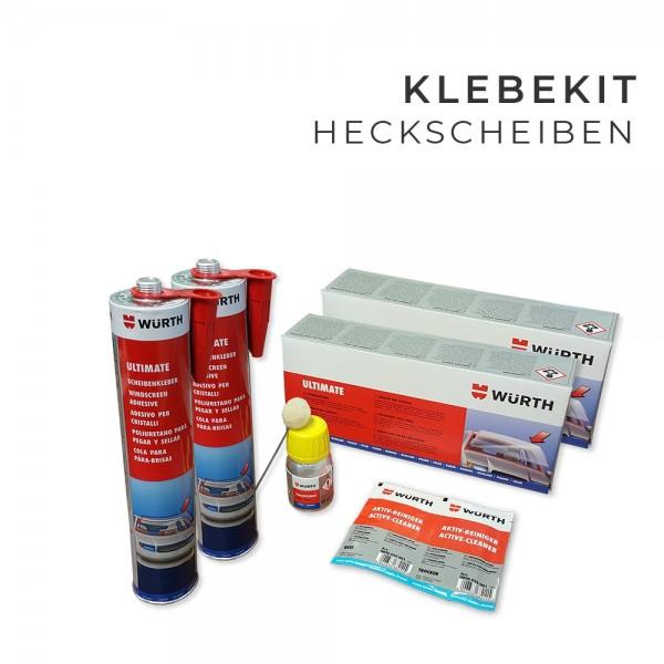 Klebekit, Scheibenkleber Set für 2 x Heckscheiben