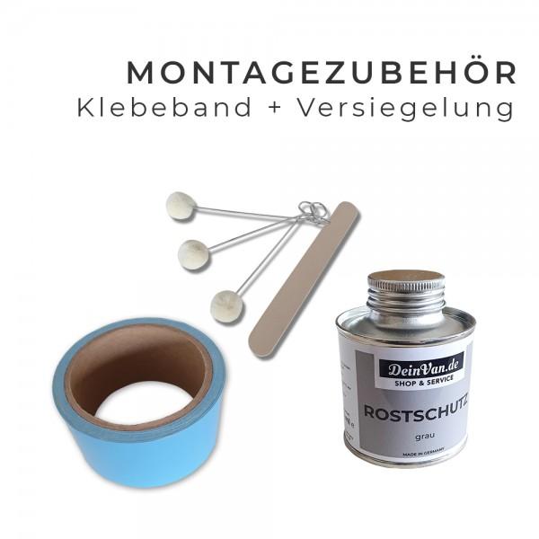 Montagezubehör Spezial Klebeband, Versiegelung und Tupfer