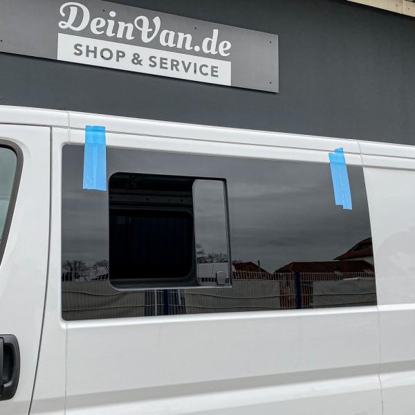 VL Seitenscheibe mit Schiebefenster getönt für Peugeot Boxer L2-L5