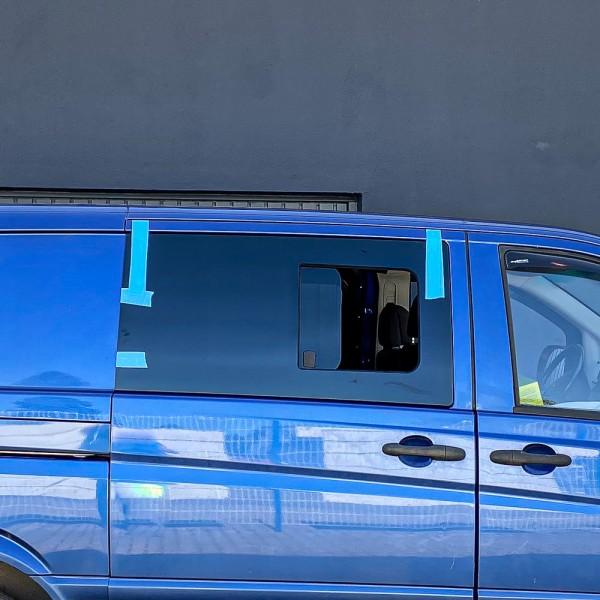 VR Seitenscheibe mit Schiebefenster getönt für Mercedes Vito, Viano W639