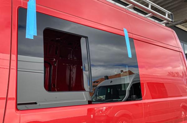 VL Seitenscheibe mit Schiebefenster getönt für Peugeot Boxer L1